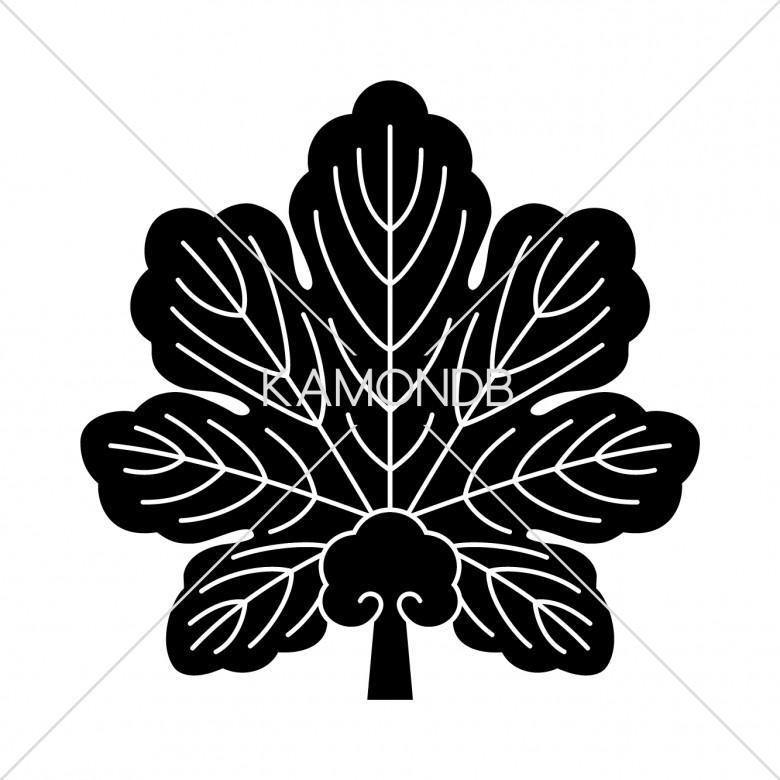 梶の葉団扇