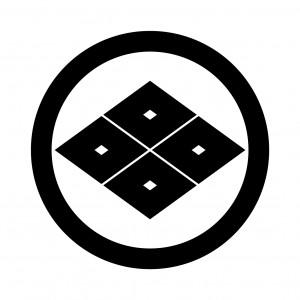 丸に四つ目菱