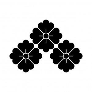 三つ盛花角
