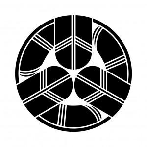 三つ折れ鷹の羽丸