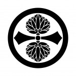 丸に剣二つ葵