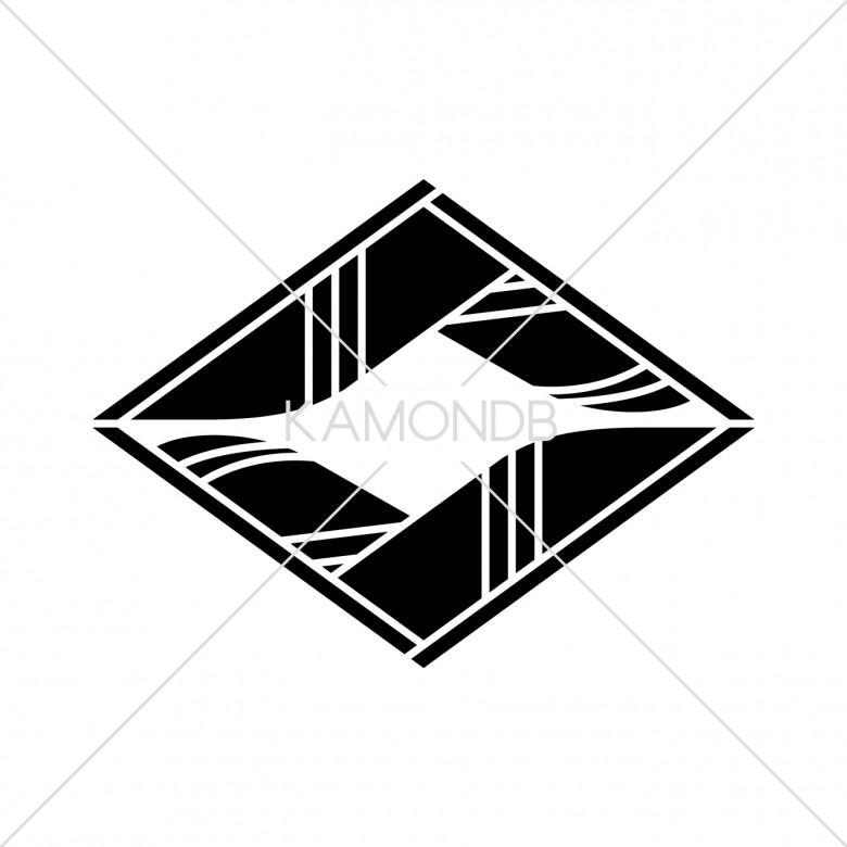 割折れ鷹の羽菱(1)