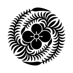 葉付き変わり田字草の丸