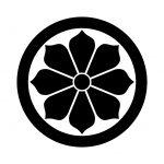 丸に変わり八つ菊