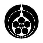 二つ熨斗輪に梅鉢