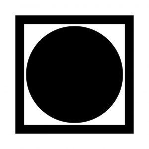 黒田枡形に月