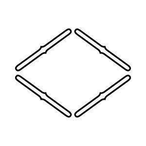 四つ網目菱