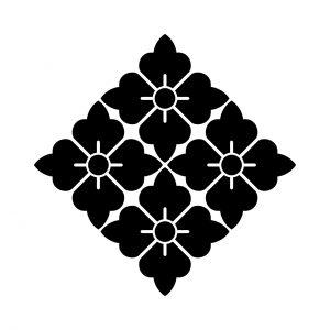 四つ尖り花角