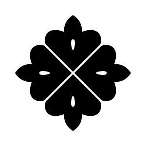 四つ目形花角