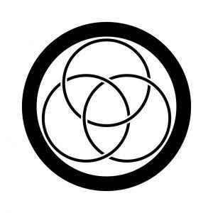 丸に細三つ金輪