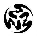 三つ弓文字丸