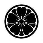 細輪に剣桜