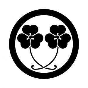 丸に二葉片喰(1)