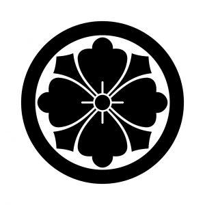 丸に剣花角