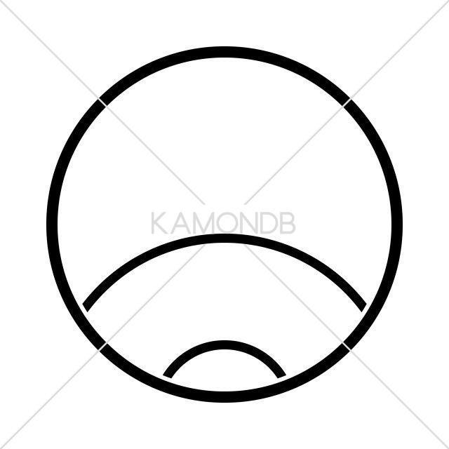 糸輪に覗き陰蛇の目