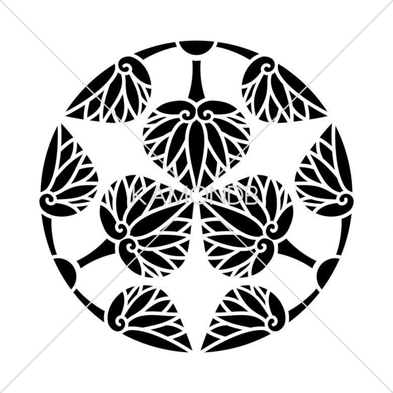 三つ割五つ葵