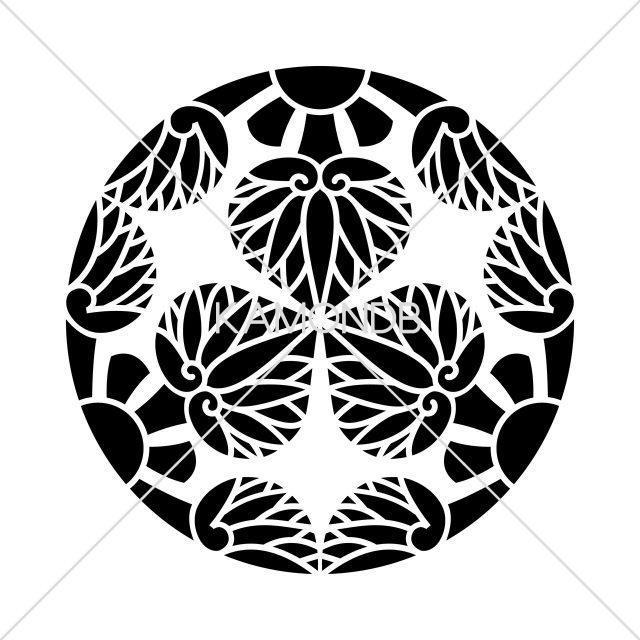 三つ割幼剣五つ葵
