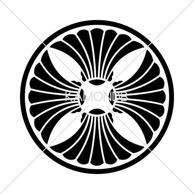 糸輪に四つ板屋貝