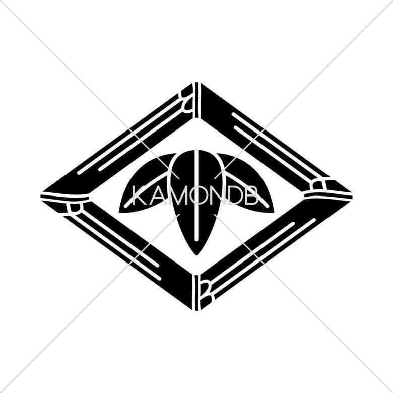 竹菱に三枚笹(1)