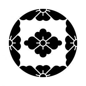 四つ割桜に花菱