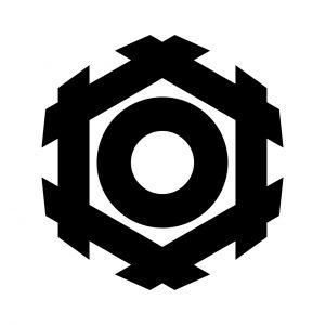 六角井筒に蛇の目(2)