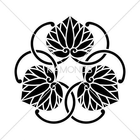蔓違い三つ葵