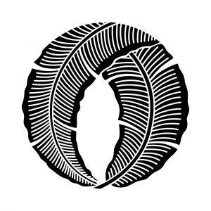 折れ芭蕉の丸
