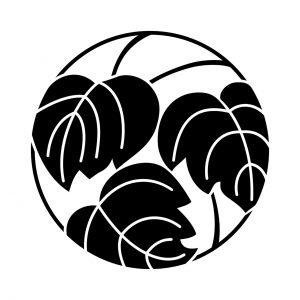 三葉青桐の丸